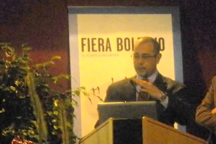 Il Presidente di AITI - Silvio De Blasio durante il suo intervento
