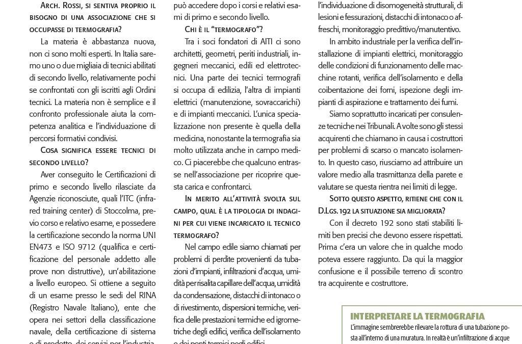 Giovanna Rossi - Indagini infrarosse certificate