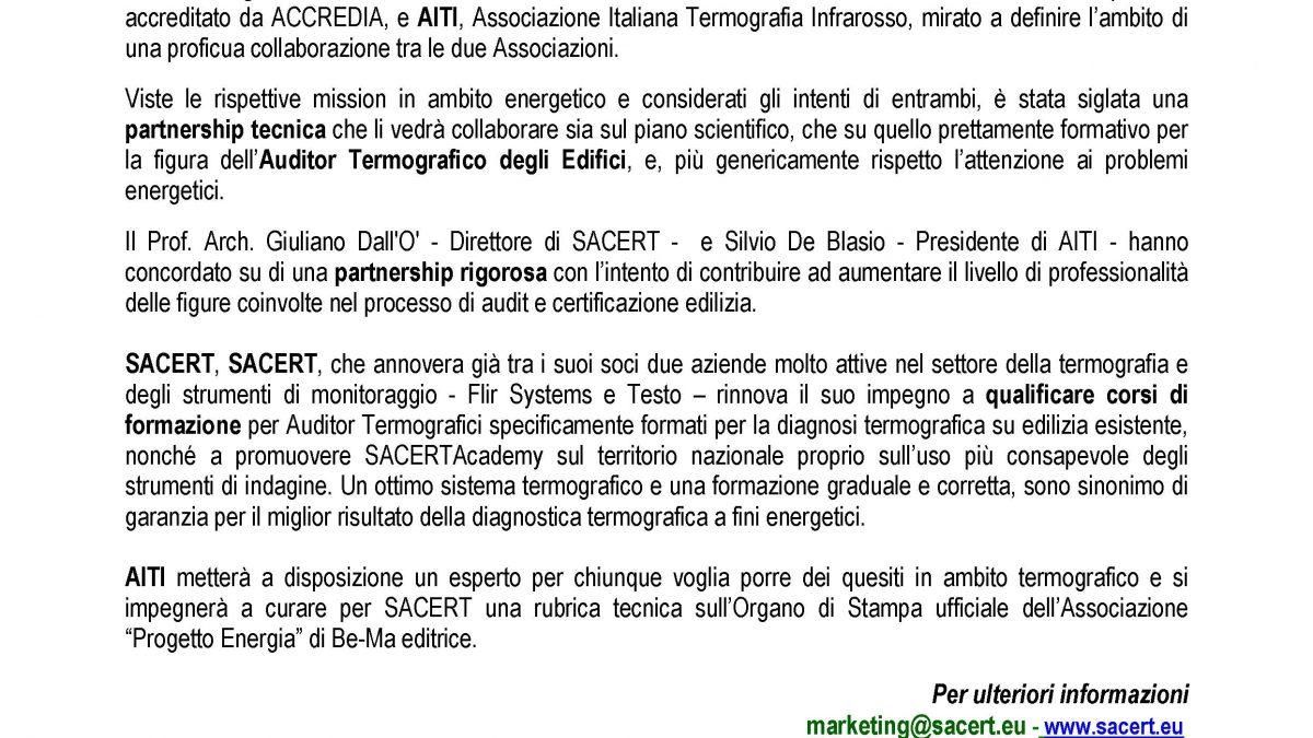 Partnership AITI - SACERT