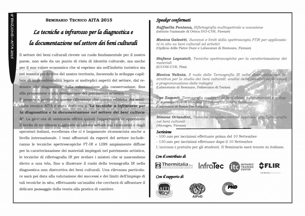 Programma seminario AITA 2015