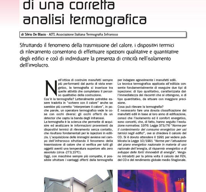 Silvio De Blasio - L'importanza di una corretta analisi termografica
